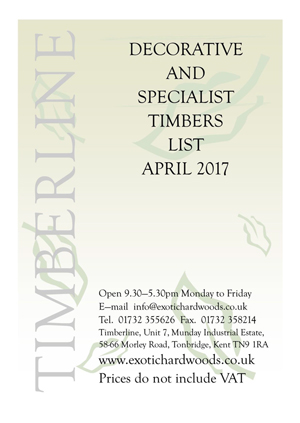 Timberline Catalogues