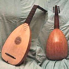 Seven course lutes made from our tonewoods
